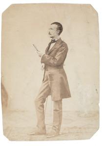 Portret van een man, waarschijnlijk Alexey Borisovich Lobanov-Rostovsky (1824-1896)