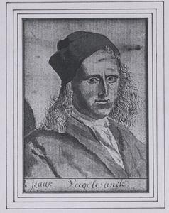 Portret van Izaak Vogelensanck (1688-1753)