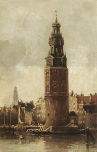 Montelbaanstoren in Amsterdam