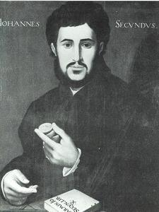 Portret van Janus Secundus (1511-1536)