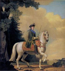 Catharina II van Rusland en haar hengst Brillante