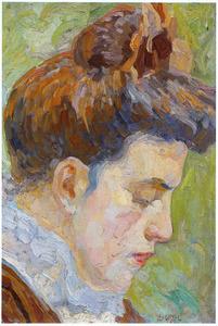 Portret van Anna, zuster van Leo Gestel