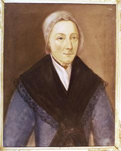 Portret van Johanna Blom (1760-1799)