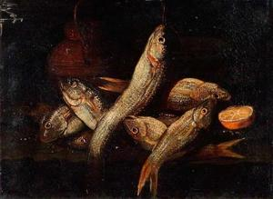 Stilleven van vissen