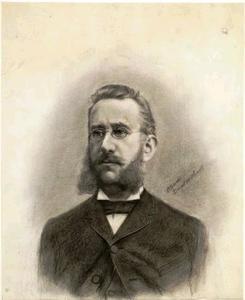 Portret van Gerard Adriaan Heineken (1841-1893(