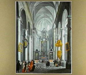 Een barok kerkinterieur