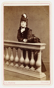 Portret van Jacoba Philipina van Oldenbarneveld genaamd Witte Tullingh (1853-1936)
