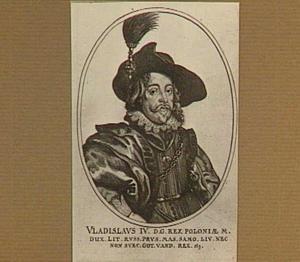 Portret van Wladislaus-Sigismund, koning van Polen