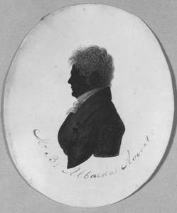 Portret van Binse Albarda (1796-1862)