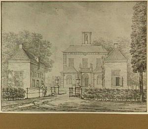 De ridderhofstad Gunterstein bij Breukelen