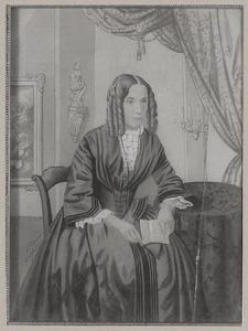 Portret van Cornelia Johanna van der Jagt (1833-1874)