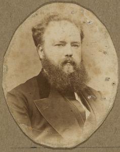 Portret van Eugene Jean Maas (1844-1914)