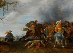 Ruiters op het slagveld
