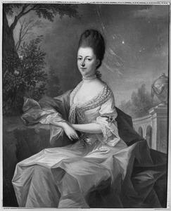 Portret van Susanne Civile d' Aumale ( -1822)