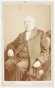 Portret van Jacob Gijsbert de Hoop Scheffer (1819-1893)