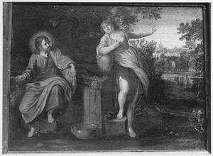 Christus en de Samaritaanse vrouw (Johannes 4:1-29)