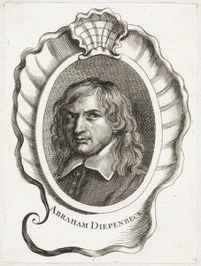 Portret van Abraham van Diepenbeeck (1596-1675)
