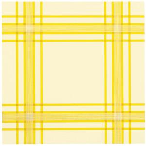 Kompositie met gele ruit
