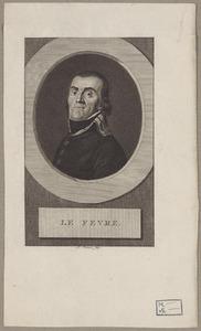Portret van Gilles Johannes le Fèvre de Montigny (1765-1821)