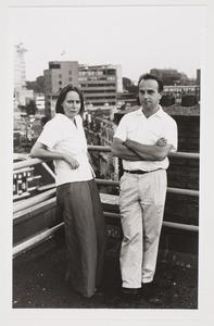 Portret van Anneke en Willem Oorebeek