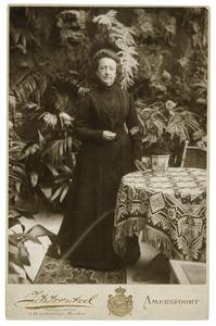 Portret van Adele Maria van Eeghen (1852-1913)