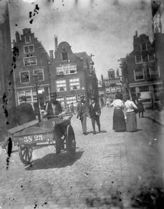 Gezicht op de Lindengracht te Amsterdam