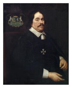 Portret van Cornelis Lampsins (1610-1664)