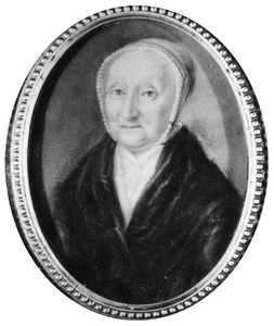 Portret van Dina Jeanette van der Laken (1721-1809)