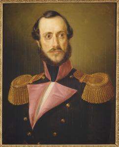 Portret van Luitenant-Generaal Charles Baron Nepveu