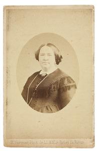 Portret van Clara Frederika van de Poll (1821-1875)