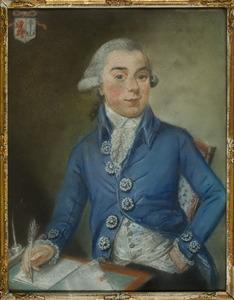 Portret van Arnoldus Fredericus Pichot (1771-1798)