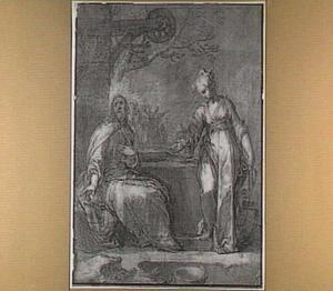 Christus en de Samaritaanse vrouw bij de waterput (Johannes 4:15)