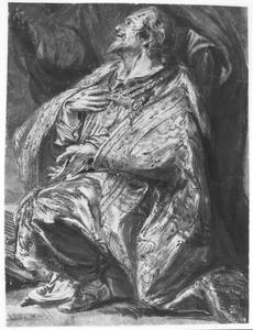 Knielende koning David