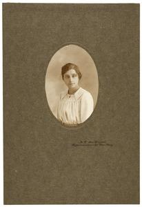 Portret van Maria Christina Johanna Reijckers (1901-1982)