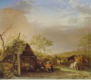 Herders met vee