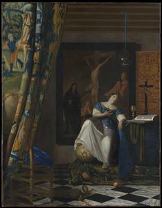Allegorie op het katholieke geloof