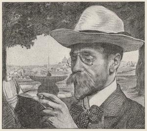 Portret van Jan Stuyt (1868-1934)