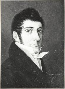 Portret van Joannes van Hasselt (1785-1833)