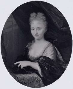 Portret van Barbara Cornelia Fabricius (1692-1733)