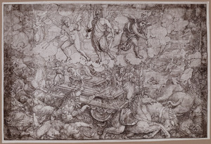 Allegorische of mythologische voorstelling