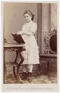 Portret van Emilie de Veer Tijndall