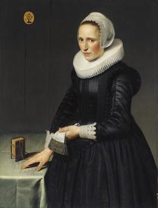 Portret van Maria Pijnacker (1599-1678)