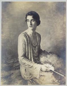 Portret van Maria Adriana de Jonge (1908-1993)