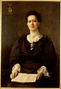 Portret van Maria Johanna Reepmaker (1865-1926)
