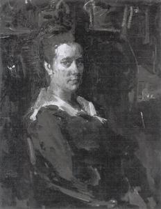 Portret van mevr. A.C.G. Glerum-Rincker