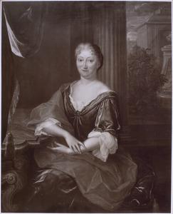 Portret van een vrouw, mogelijk Helena de Vicq (1676-1738)