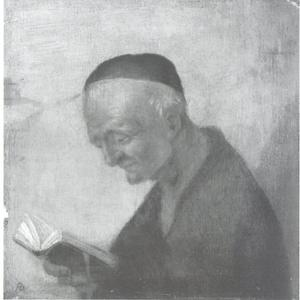Lezende oude man