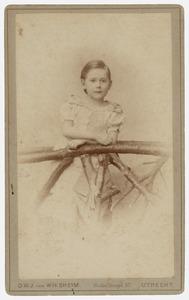 Portret van Antoinette Frederique Jeanne Marie van Asch van Wijck (1884- )