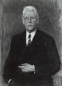 Portret van August Adriaan Pulle (1878-1955)