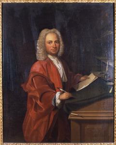 Portret van Johan Assuerus Schorer (1690-1752)
